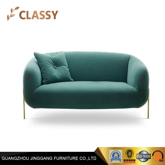 Surprising Luxury Comfortable Curved Shape Loveseat Metal Steel Small Sofa Lamtechconsult Wood Chair Design Ideas Lamtechconsultcom