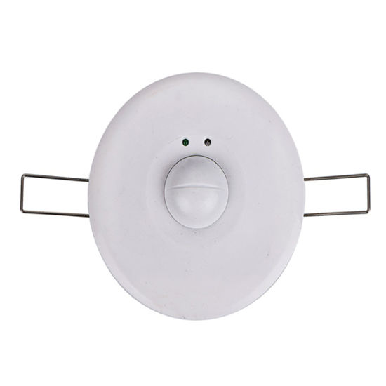 China Recessed Ceiling Mounting Microwave Motion Sensor - China