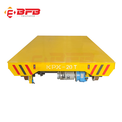 China Supplier Battery Powered Steel Coil Handling Trailer on Rails pictures & photos