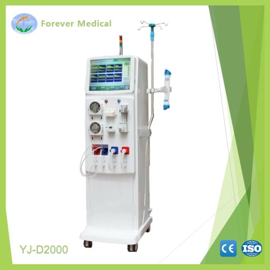 Double Pumps Medical Fluid LCD Touch Screen Mobile China Hemodialysis pictures & photos