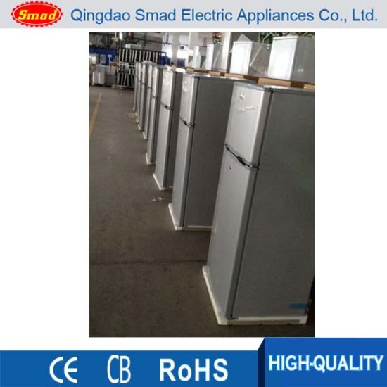 China 200 Cheap Top Freezer Double Door Refrigerator For Home Use