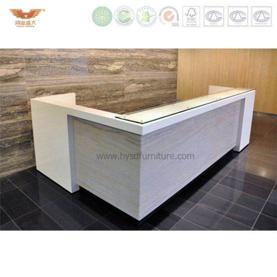 China Modern Luxury Stylish Decoration Salon Reception Desk (R82 ...