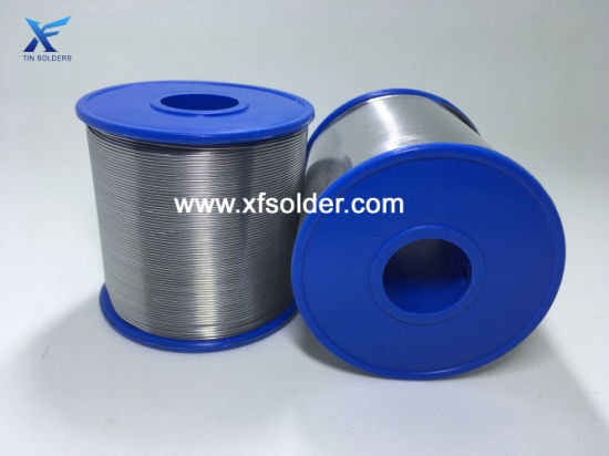 Tin Solder Welding Wire with Rosin Core OEM Manufacturer China 0.5-1.0mm for Electronic Devices RoHS Sn63/Pb37 pictures & photos