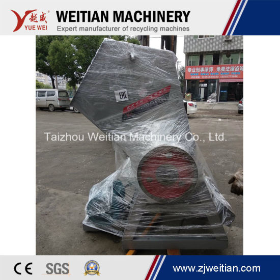 Ce Certificate Hard Waste Wasted Pet Plastic Bottle/PE Film/Lamp/Rubber/Wood/Paper Sheet Stock Crusher