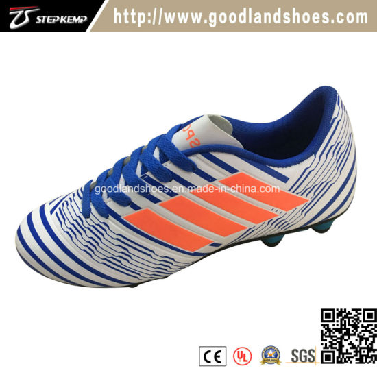 2018 High Quality Outdoor Soccer Shoes Colorful Customized Football Shoes Exf-7105