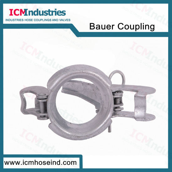 Agriculture Pump Coupling Bauer Hydraulics Male End with Lever