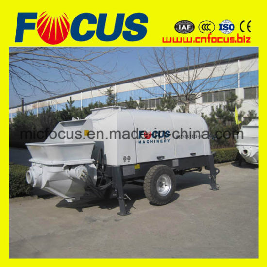 80m3 /H Diesel Concrete Pump, Portable Diesel Trailer Concrete Pump pictures & photos