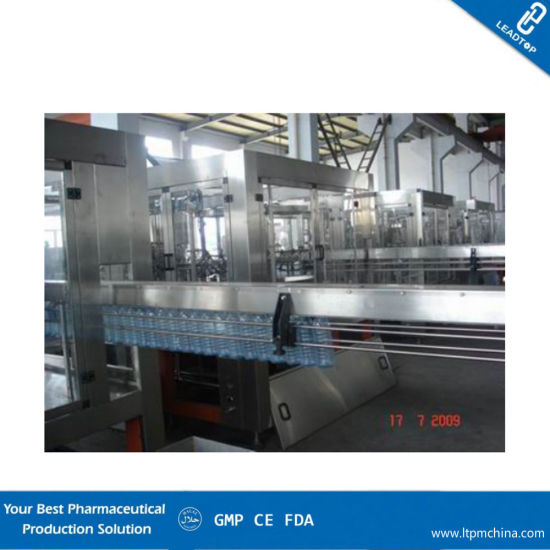 Automatic Volumetric Inline Liquid Bottle Filling Machine with Siemens Control