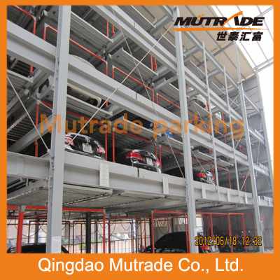 Vertical-Horizontal Puzzle Parking Mechanical Parking System pictures & photos