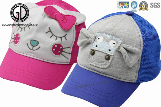High Quality Kids Fashion Printed Sports Baseball Sun Baby Cap pictures & photos