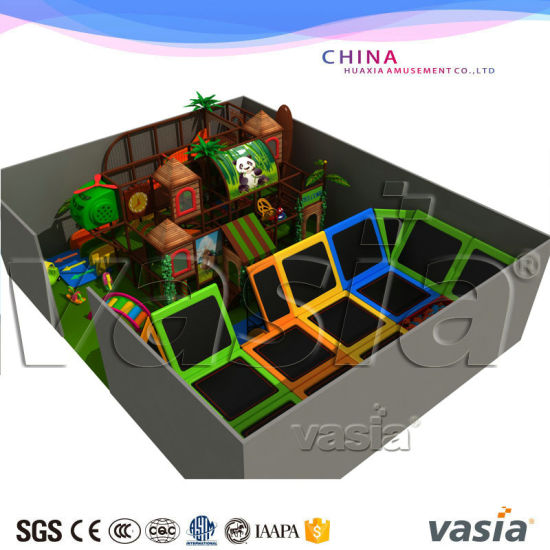 Huaxia Olympic Trampoline Big Gym Trampoline Park for Kids and Adult pictures & photos