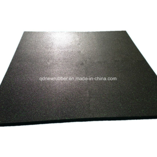 Fitness Center Rubber Flooring Made in China pictures & photos