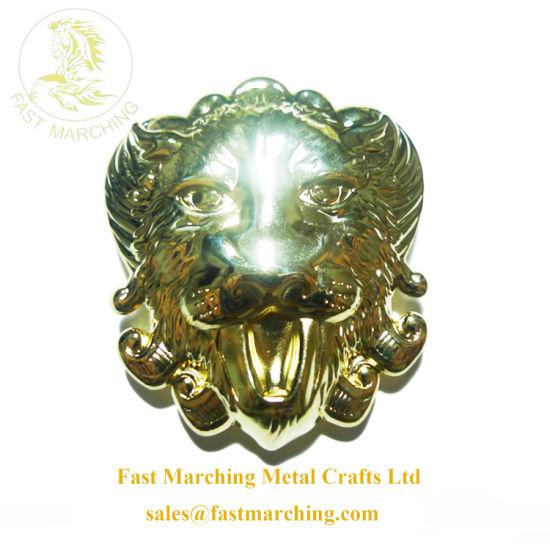 Factory Price Custom Die Cast 3D Badge Lion Lapel Pin