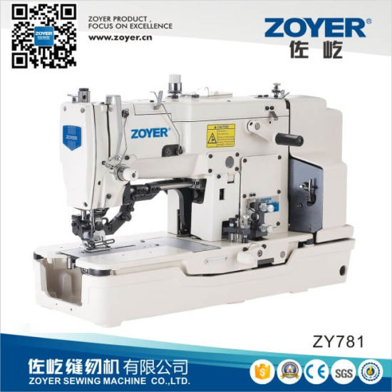 Zoyer Juki Straight Button Holing Industrial Sewing Machine (ZY781)