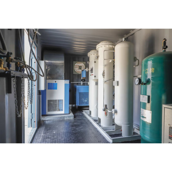 Containerized Type Oxyge Generator for Filling Cylinders