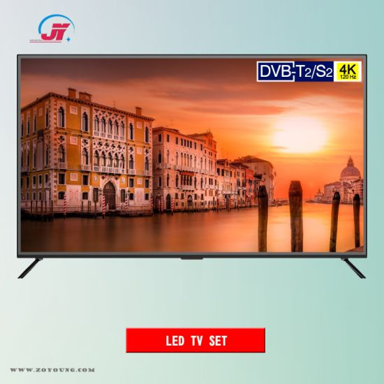 China 55inch 4K UHD 120Hz Smart DVB-T2/S2 LED TV (ZTC-550T9-USDS