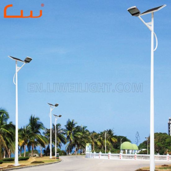 30W 5m Battery Burried Solar Street Lighting System pictures & photos