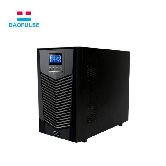 High Frequency Single Phase Three Phase 6kVA 10kVA 200kVA Online UPS Power  System Offline UPS Power Supply for Data Center Solar Power System Home