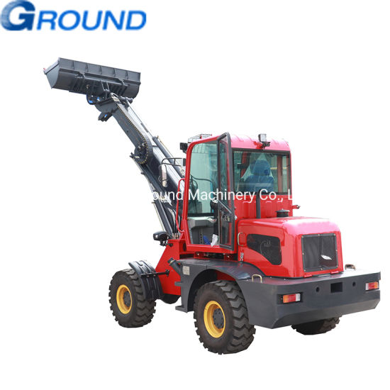 Telescopic wheel loader 1.6ton bucket with good price