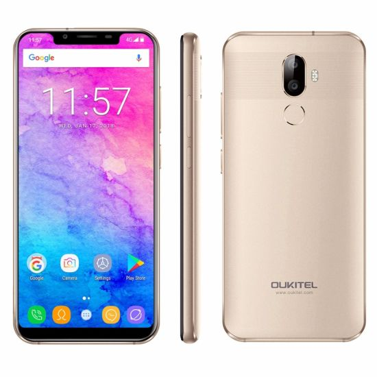 Oukitel U18 Mobile Phone Cellular Movil Smart Phone Fingerprint Smartphone pictures & photos