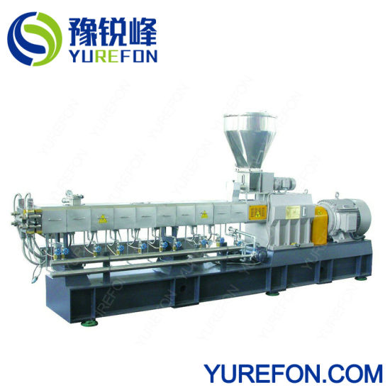 Twin Screw Extruder for Waste Plastic Pet Recycling pictures & photos