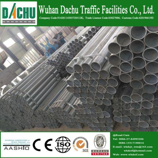 China a/S Standard 1100G/M2 Zinc Coated Guardrail Upright