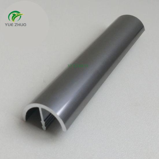 Hot Item Modern Kitchen Cabinet Pulls Titanium Grey Aluminium Edge Profile Handle