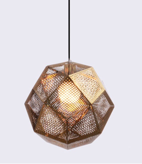 China Decorative Rose Gold Stainless Steel Indoor Hanging Light ...