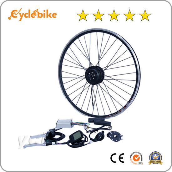Ce Approved Electric Bike Front/ Rear Hub Motor Conversion Kit/ Electric Bicycle Parts pictures & photos