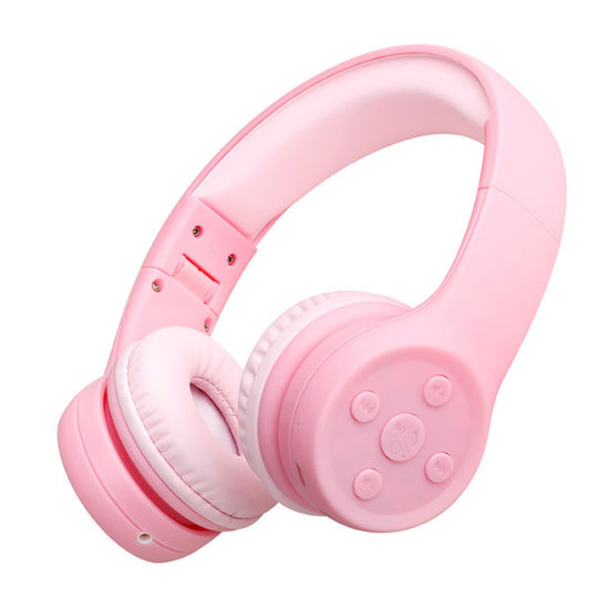 China High Quality On Ear Kids Bluetooth Headsets Scalable Adjustment Child Wireless Headphones E2 China Wireless Headphones And Child Wireless Headphones Price