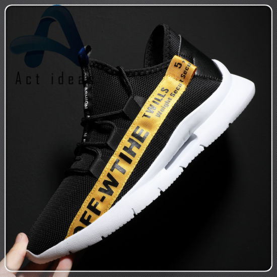 Latest Design Men Casual Fashion Sporting Shoes with Wholesale Comfortable Running Shoe pictures & photos
