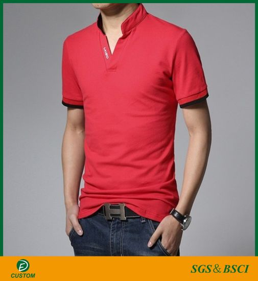 Guangzhou Factory Best Quality Men′s Polo Shirts with Cheap Price pictures & photos
