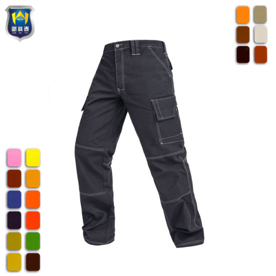 Work Trousers Mechanic Cargo Pants pictures & photos