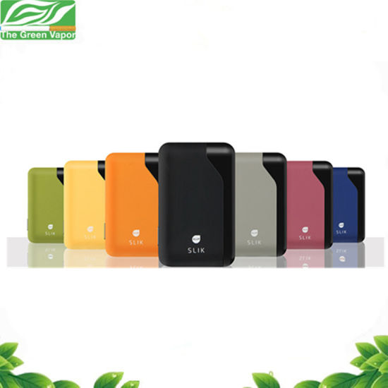 Ultra Portable Credit Card Sized All-in-One E-Cig Pod Vaporizer Starter Kit pictures & photos