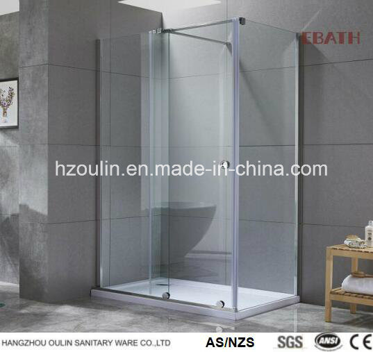 Square or Rectangular Shower Enclosure in Tempered Glass - Various Sizes Available