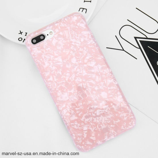 Glitter Soft TPU Dream Shell Pattern Phone Cover Phone Cases for iPhone X 8 7 6 6s Plus