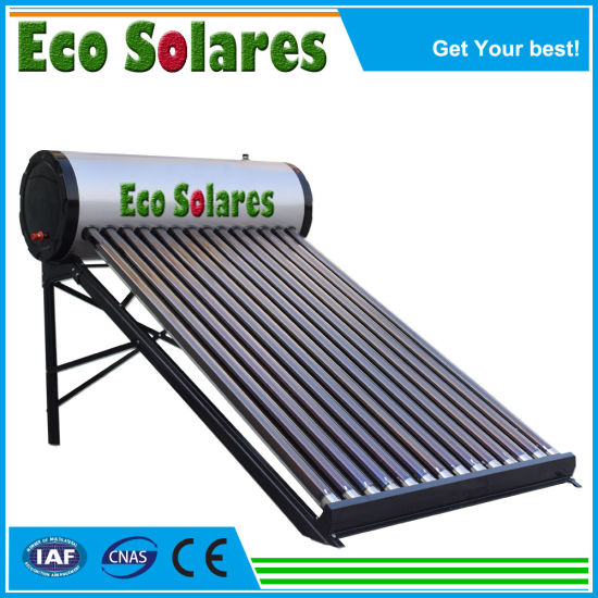 Wholesales Price Cheap Roof Heaters Stainless Steel Compact Pressurized Non Pressure Heat Pipe Solar Energy Water Heater Solar Collector Vacuum Tubes