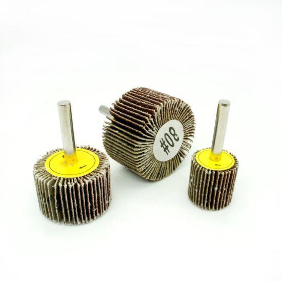 """50 1.5/""""x 1/""""x1//4/"""" Premium Flap Wheels Aluminum Oxide Sanding Disc 40 Grit"""