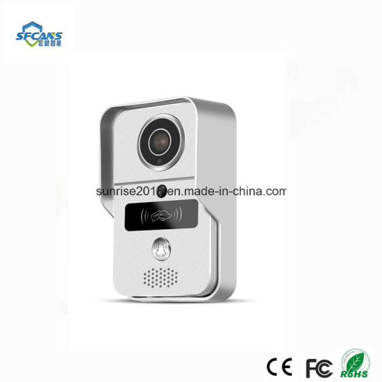 Home Security Wireless Wired Intercom System Video With Memory