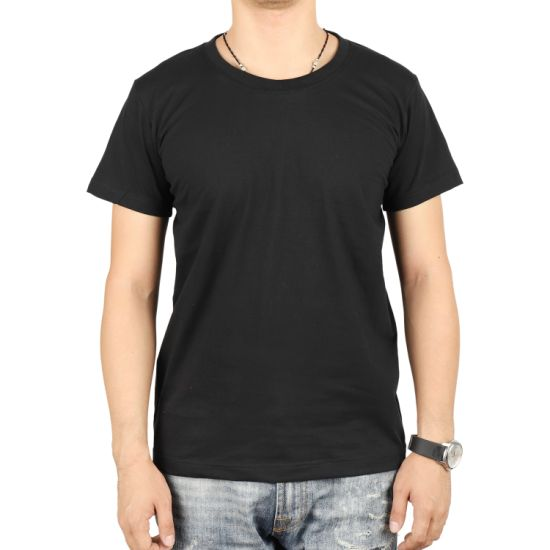 Good Price High Quality Short Sleeve CVC 200GSM T-Shirt pictures & photos