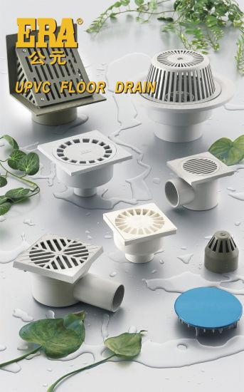 UPVC Drainage Fitting Gully Trap Lower Type Floor Drain pictures & photos