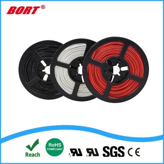UL, Wire, Solid or Stranded, UL-10064 Ultra Thin 36AWG 7/0.05 FEP Flat Drop Wire pictures & photos
