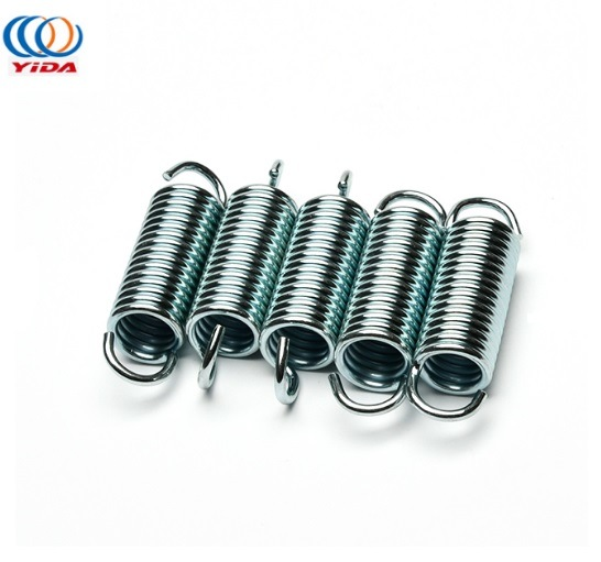 Wholesale Customized Steel Tension Spring with Double Hooks for Bearing Tensile Force Tension