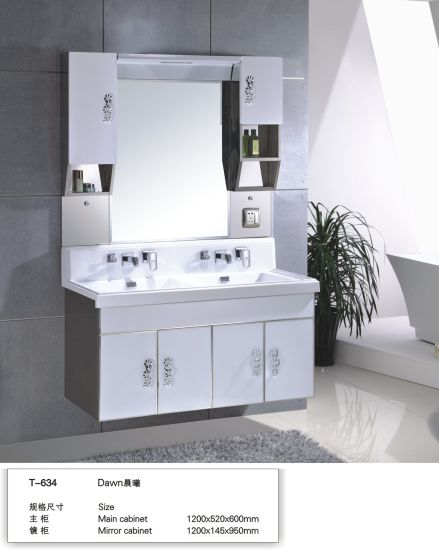 Cheap Small Size Wall Mounted Stainless Steel Project Bathroom Cabinet
