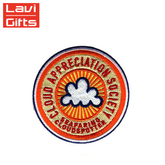 Cheap Custom Made DIY Design 3D Embroidery Chenille Patches Stick-on  Embroidered Badges Patch No Minimum