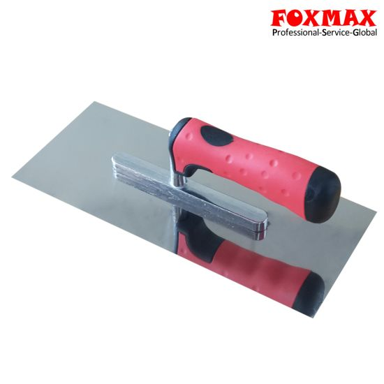 Stainless Steel Plastering Trowel with TPR Handle (FPT10)