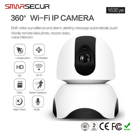 2MP 1080P IP WiFi Camera Mini APP Ios/Android for Home Security