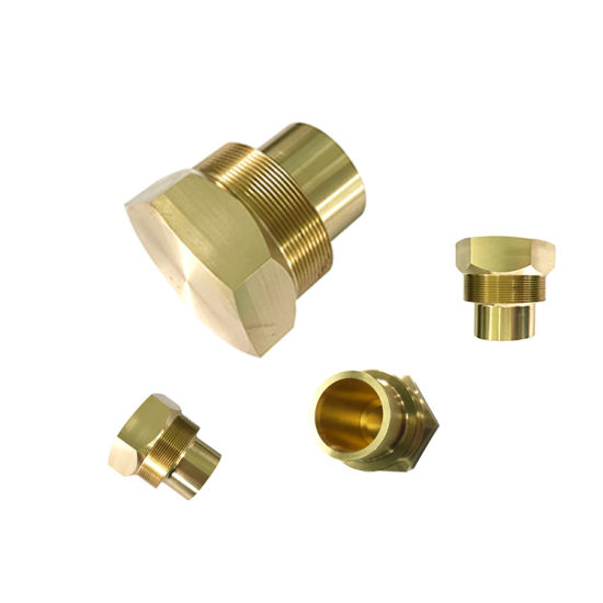 Densen Customized High Precision Decorative Aluminum Brass Stainless Steel Weld Long Bolt and Hex Plate Insert Nut with Groove