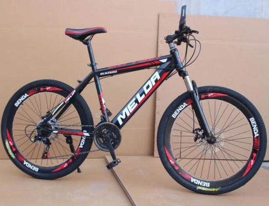 24 26'' Steel Suspension 21 Speed Customized Mountain Bike