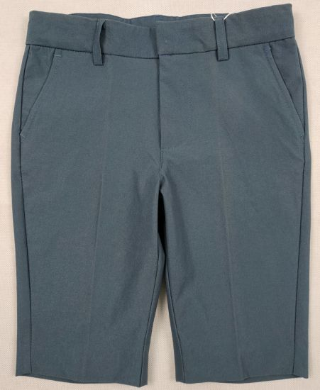 Boy′s Teal Blue Basic Stretch Shorts Pants pictures & photos